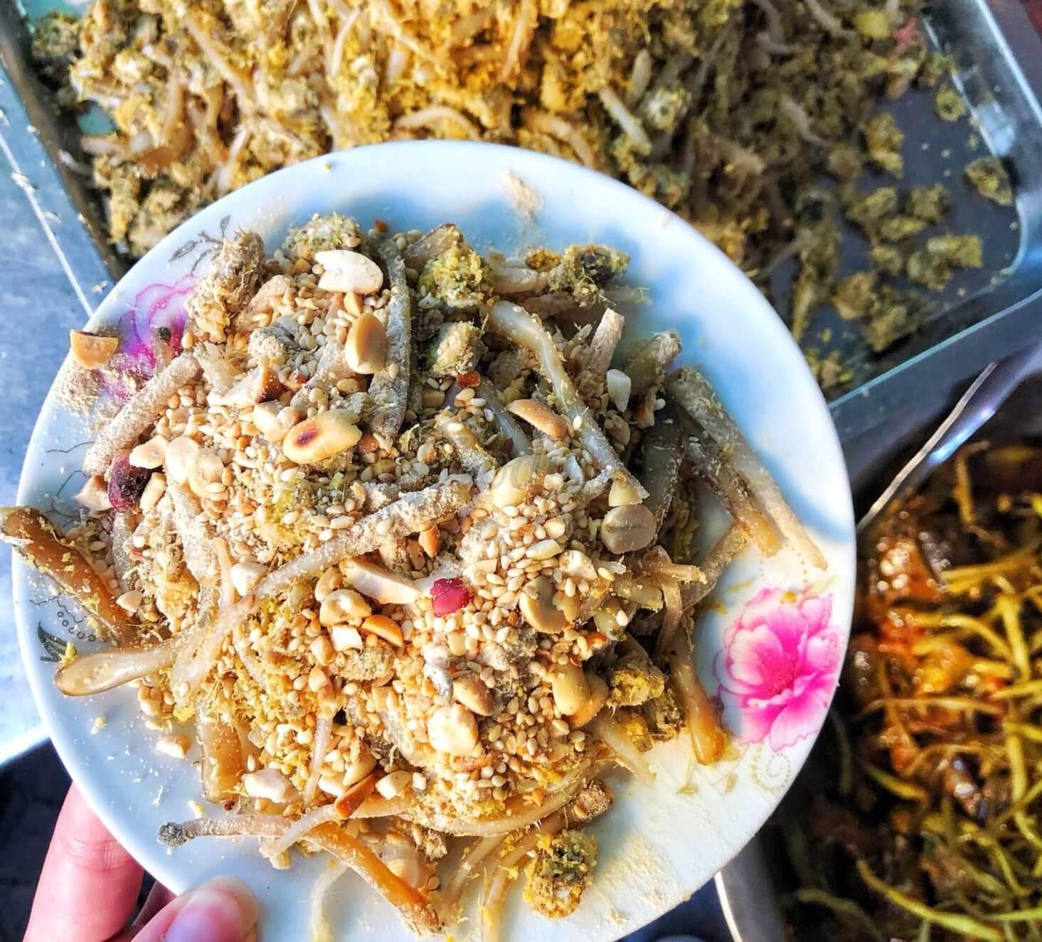 đồ ăn vặt ngon ở hải phòn