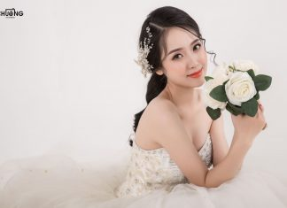 trang điểm cô dâu tại hải phòng