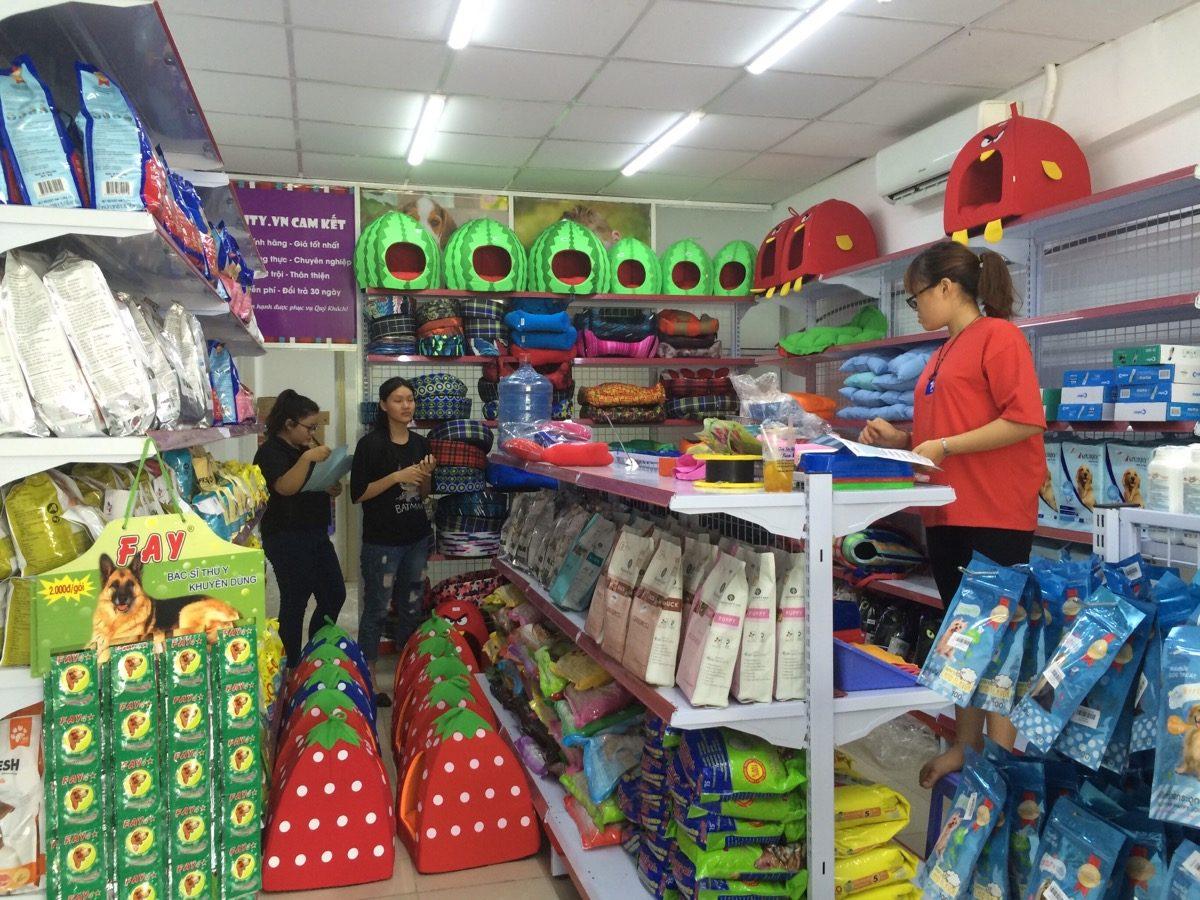 cửa hàng thú cưng Hải Phòng