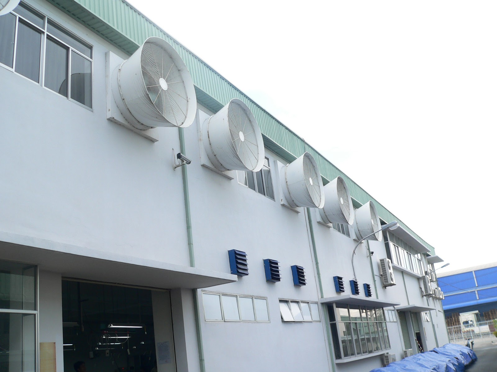 hệ thống làm mát nhà xưởng tại hải phòng