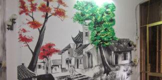 vẽ tranh tường Hải Phòng